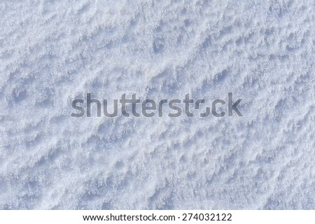 macro bizarre texture of ice and snow - stock photo