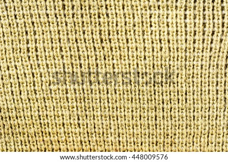 Macro of fabric texture background - stock photo