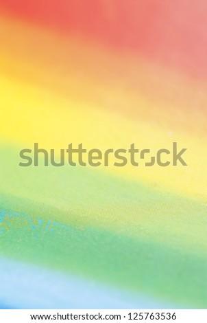 Macro photo of colour tones from crayon set. - stock photo