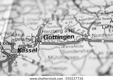 Gottingen Germany Stock Images RoyaltyFree Images Vectors - Germany map gottingen