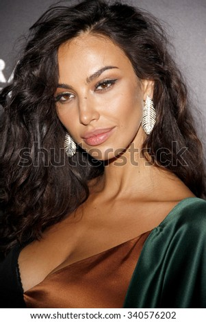 Madalina Diana Ghenea at the Los Angeles premiere of 'Youth' held at the DGA Theatre in Hollywood, USA on November 17, 2015.