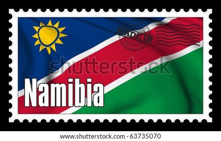 Made in Namibia original stamp collection