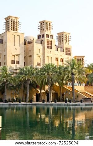 Madinat Jumeirah Dubai - stock photo