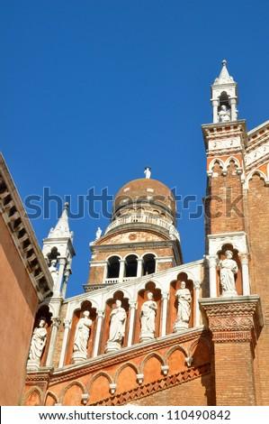 Madonna Dell'Orto church in Venice, Italy - stock photo