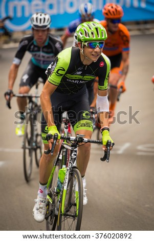 Madonna di Campiglio, Italia 24 maggio 2015; Davide Formolo during the fifteenth stage of the Tour of Italy 2015. Stage mountain from Marostica to Madonna di Campiglio.