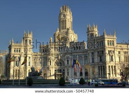 Madrid, Madrid, Madrid... - stock photo