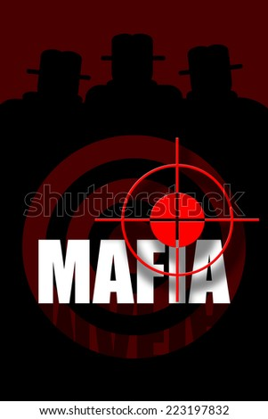 Mafia - stock photo