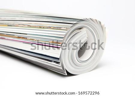 magazine - stock photo