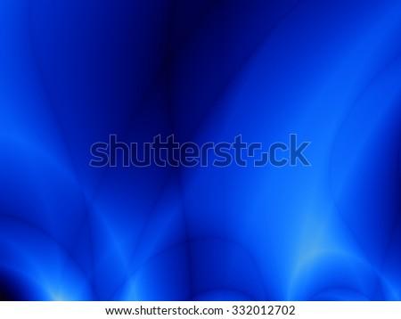 Magic blue dark flow fantasy graphic design - stock photo