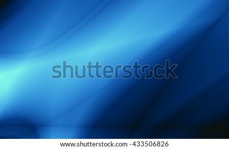 Magic blue template wallpaper background - stock photo