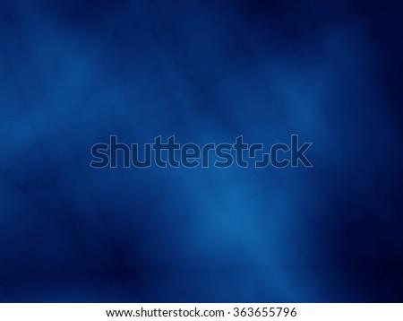 Magic blue wallpaper illustration background - stock photo