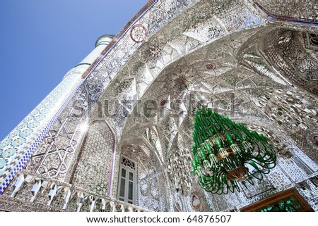 Magic mosque - stock photo