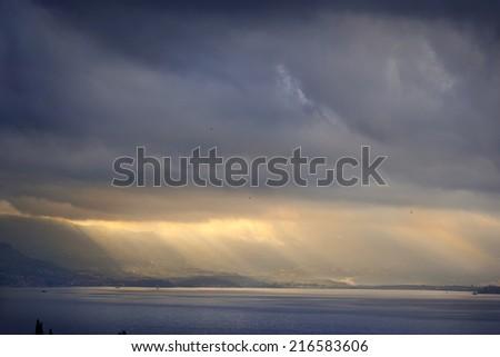 Magical Landscape/Montenegro coastline - stock photo