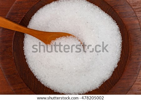 Magnesium Sulfate, also known as Epsom Salt or Epsom Salts.