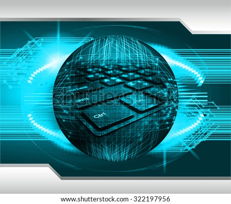 Magnifying Glass scanning and identifying a computer virus. Antivirus protection and computer security concept. PC. one zero. scan. technology digital website internet web. - stock photo