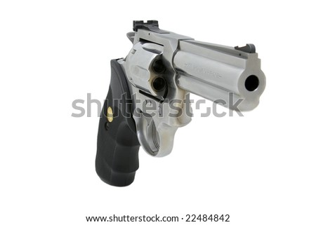 Magnum Revolver - stock photo