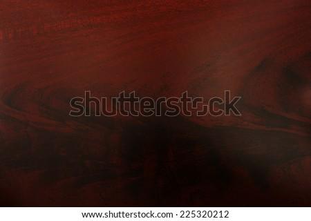 Mahogany wood grain texture pattern background - stock photo