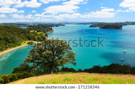 Mahurangi West Beach on the West Coast of the North Island, Auckland, New Zealand - stock photo