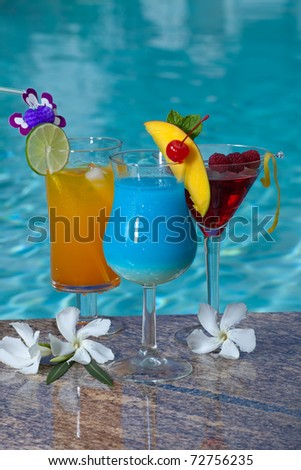 Mai Tai And Blue Hawaiian Cocktails Recipes — Dishmaps