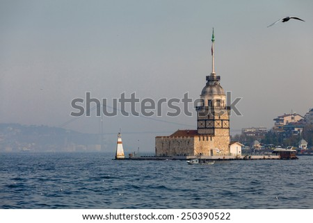 Maidens Tower - stock photo