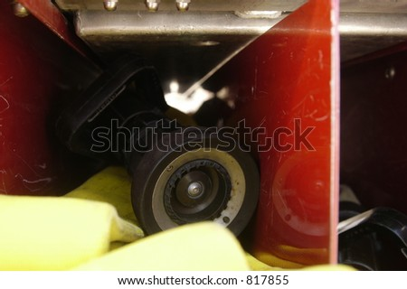 main line - stock photo