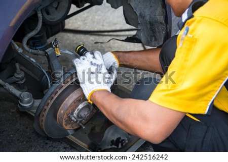 Maintenance car brake disc