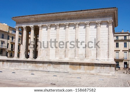 Maison Carree of Nimes