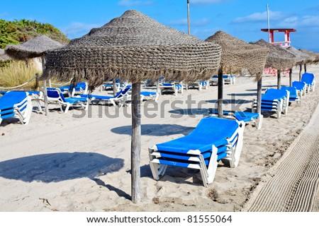 Majorca Island (Spain) : Fun at the beach - stock photo