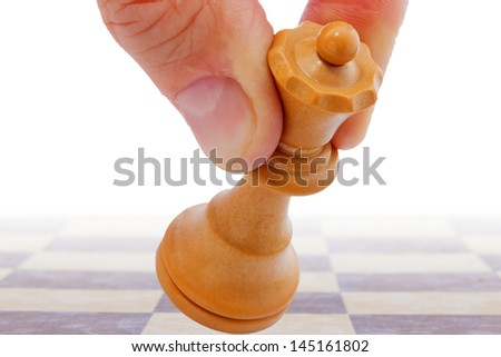 Make the right move - stock photo
