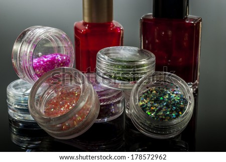 make up and nailpolish