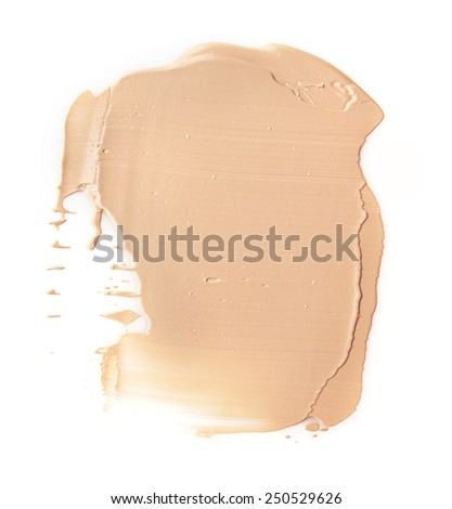 Make up base paint on background
