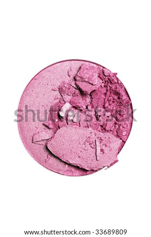 make-up eyeshadow or blush - stock photo