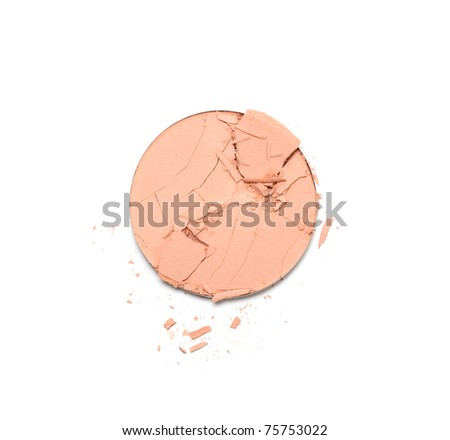 Make up powder - stock photo