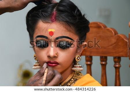 bharatanatyam makeup for kids - photo #14