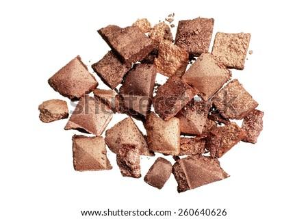 Makeup Crumbles - stock photo