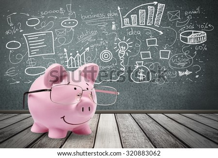 Making Money. - stock photo