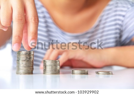 Making money concept - stock photo