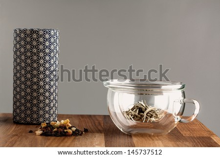 making tea  - stock photo
