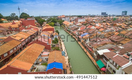 malacca from top