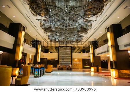 Malacca Malaysia May 22 2017 Interior Stock Photo 733988995