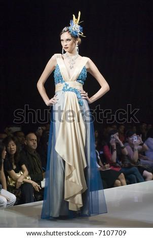 Malaysia International Fashion Week 2007 - Carven Ong - stock photo