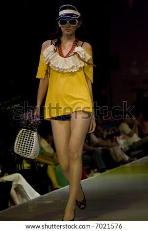 Malaysia International Fashion Week 2007 - The Triumph Show - stock photo