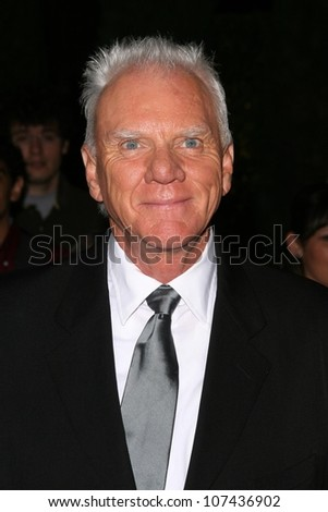 Malcolm McDowell  at 'Heroes Countdown to the Premiere' Party. Edison Lounge Downtown, Los Angeles, CA. 09-07-08