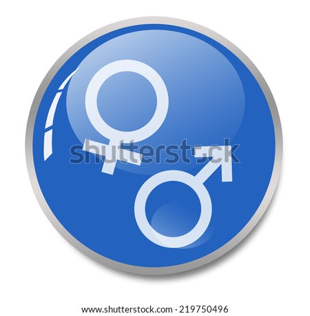 male and female sign - stock photo