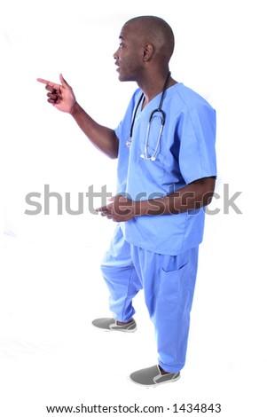 Male Nurse - stock photo