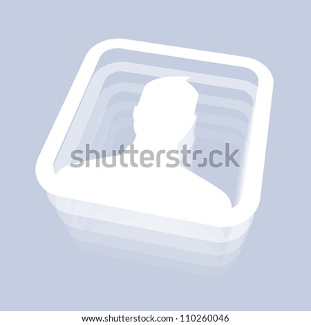Male User - stock photo