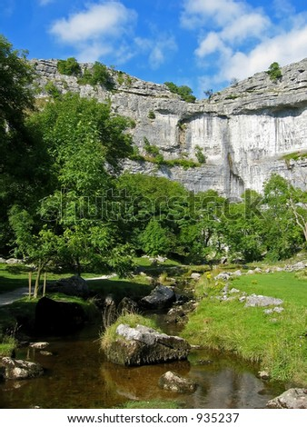Malham National Park at Yorkshire England