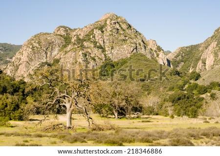 Malibu Creek State Park, California - stock photo