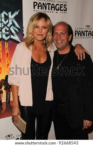 "Malin Akerman and Max Gottlieb  at the ""Rock Of Ages"" Opening Night, Pantages Theater, Hollywood, CA. 02-15-11"