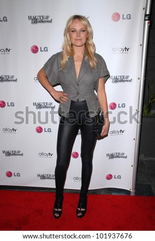 Malin Akerman at the Haute and Bothered Season 2 Launch Party, Thompson Hotel, Beverly Hills, CA. 05-10-10